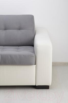 Диван-кровать Ikea Лиарум/Лэннэс 791.669.88 (серый/белый)