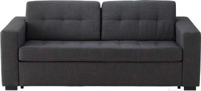 Диван-кровать Ikea Клагсторп/Ласеле 791.720.60 (темно-серый) - вид спереди