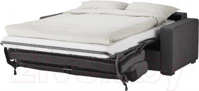 Диван-кровать Ikea Клагсторп/Ласеле 791.720.60 (темно-серый) - в разложенном виде