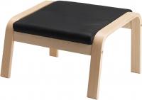 Банкетка Ikea Поэнг 798.150.47 (березовый шпон/черный) -