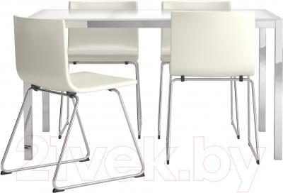 Обеденная группа Ikea Торсби / Бернгард 798.930.16 (белый)