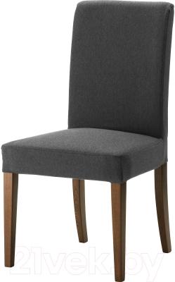Стул Ikea Хенриксдаль 799.264.51 (коричневый/темно-серый)