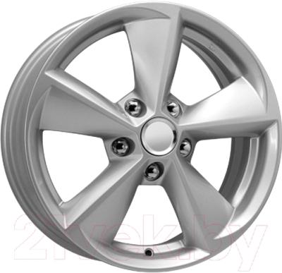 "Литой диск KnK KC681 Civic Silver 16x6.5"" 5x114.3мм DIA 64.1мм ET 45мм"