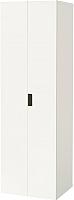 Шкаф Ikea Стува 291.336.41 (белый/белый) -