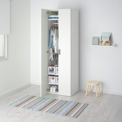 Шкаф Ikea Стува 291.336.41 (белый/белый)