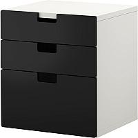 Комод Ikea Стува 890.142.11 (черный) -