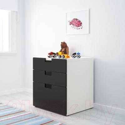 Комод Ikea Стува 890.142.11 (черный)