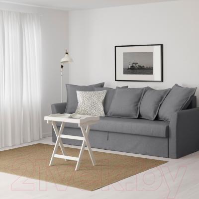 Диван-кровать Ikea Хольмсунд 291.406.27 (Нордвалла серый) - в интерьере