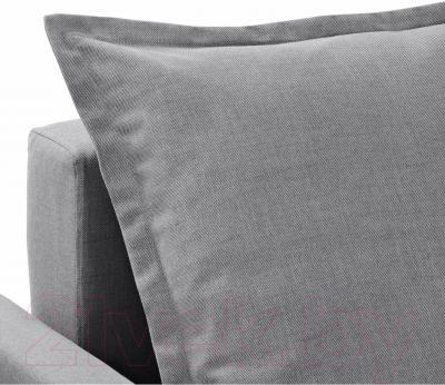 Диван-кровать Ikea Хольмсунд 291.406.27 (Нордвалла серый)