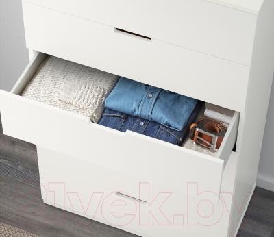 Комод Ikea Нордли 890.211.79 (белый)