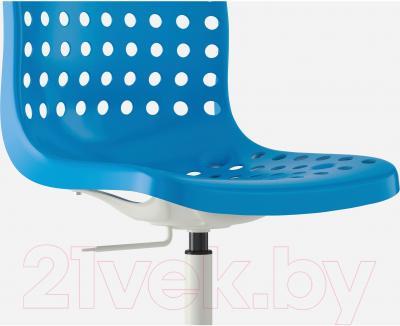 Стул офисный Ikea Сколберг/Споррен 890.236.06 (синий/белый) - вид спереди