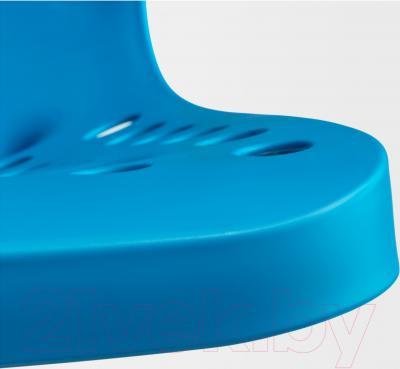 Стул офисный Ikea Сколберг/Споррен 890.236.06 (синий/белый) - пластиковое сиденье