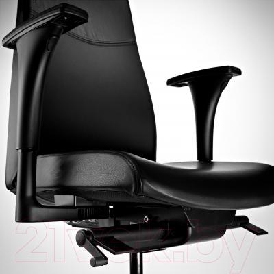 Кресло офисное Ikea Вольмар 890.317.34 (черный) - вид спереди
