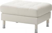 Банкетка Ikea Ландскруна 890.318.33 (белый/металл) -