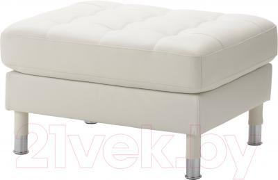 Банкетка Ikea Ландскруна 890.318.33 (белый/металл)