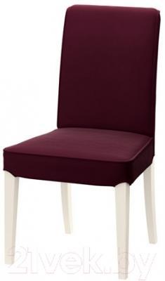Стул Ikea Хенриксдаль 891.000.44 (белый/красно-сиреневый)