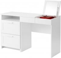 Туалетный столик с зеркалом Ikea Бримнэс 891.223.76 (белый) -