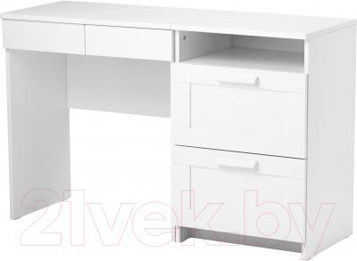 Туалетный столик с зеркалом Ikea Бримнэс 891.223.76 (белый)