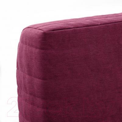 Диван-кровать Ikea Бединге Левос 891.289.29 (Книса малиновый)