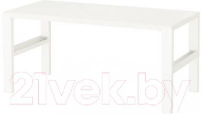 Письменный стол Ikea Поль 891.289.53 (белый)