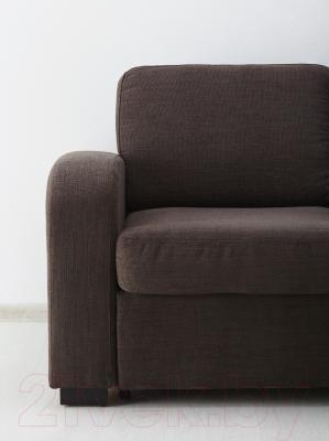 Диван-кровать Ikea Ингельстад/Лэннэс 291.669.95 (Хенста темно-коричневый)