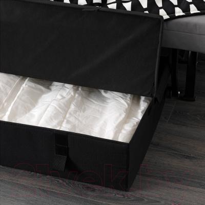 Кресло-кровать Ikea Ликселе Ховет 891.341.43 (Эббарп черный/белый)