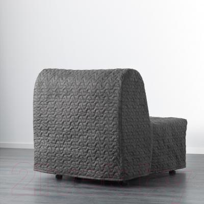 Кресло-кровать Ikea Ликселе Мурбо 891.341.62 (серый)
