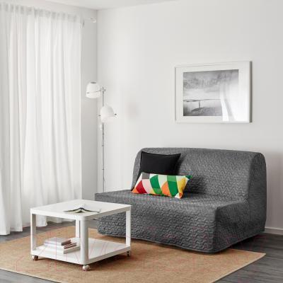 Диван-кровать Ikea Ликселе Ховет 891.499.36 (Валларум серый) - в интерьере