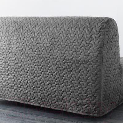 Диван-кровать Ikea Ликселе Ховет 891.499.36 (Валларум серый) - вид сзади