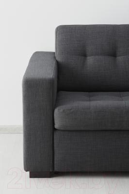 Диван-кровать Ikea Клагсторп/Лэннэс 891.670.01 (темно-серый)