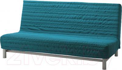 Диван-кровать Ikea Бединге/Алмос 891.710.84 (Книса бирюзовый)