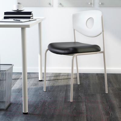 Стул офисный Ikea Стольян 899.074.52 (черный) - в интерьере