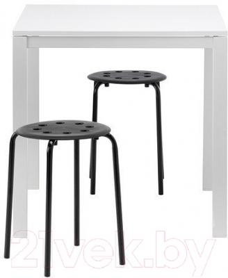 Обеденная группа Ikea Мельторп / Мариус 990.117.64