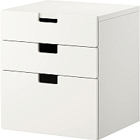 Комод Ikea Стува 990.141.97 (белый) -