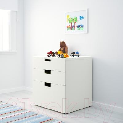 Комод Ikea Стува 990.141.97 (белый)