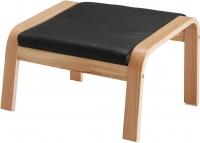 Банкетка Ikea Поэнг 298.111.17 (дубовый шпон/черный) -