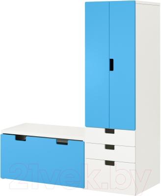 Комплект мебели Ikea Стува 990.167.47