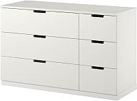 Комод Ikea Нордли 990.212.87 (белый) -