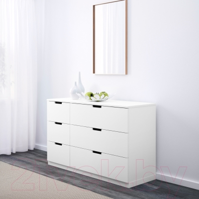 Комод Ikea Нордли 990.212.87 (белый)