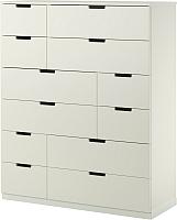 Комод Ikea Нордли 990.213.05 (белый) -