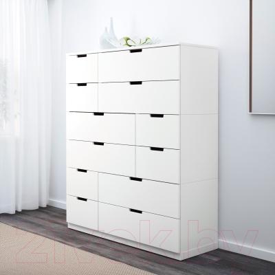 Комод Ikea Нордли 990.213.05 (белый)