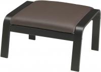 Банкетка Ikea Поэнг 298.291.17 (черно-коричневый/темно-коричн.) -