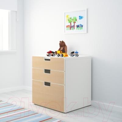 Комод Ikea Стува 990.289.05 (береза)