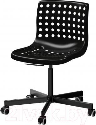 Стул офисный Ikea Сколберг/Споррен 990.236.01 (черный)