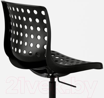 Стул офисный Ikea Сколберг/Споррен 990.236.01 (черный) - вид сзади