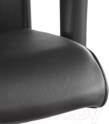 Кресло офисное Ikea Вольмар 990.317.38 (черный) - кожаная обивка