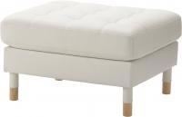 Банкетка Ikea Ландскруна 990.318.37 (белый/дерево) -