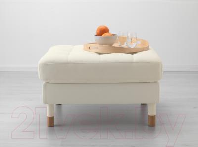 Банкетка Ikea Ландскруна 990.318.37 (белый/дерево)