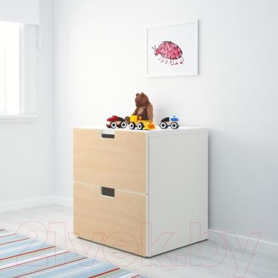 Комод Ikea Стува 991.224.46 (береза)