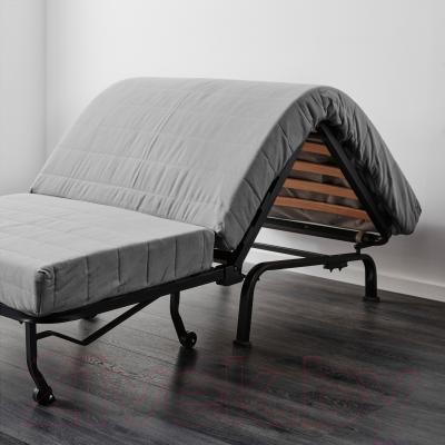 Кресло-кровать Ikea Ликселе Левос 991.341.52 (Эббарп черный/белый)